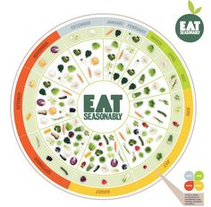 Eat sensibly by eating seasonably. #IQS #sustainability #wellbeing #health