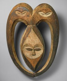Ram Mask (Bata), 19th–20th century  Kwele peoples; Republic of Congo or Gabon  Wood, paint