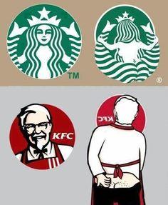 starbucks vs. KFC