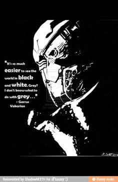 Garrus Valkarian. Mass Effect