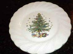NIKKO China Christmas Tree & Presents | Christmas Dishware ...
