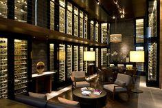 The Wine & Cigar Library at The Chedi Andermatt #Switzerland