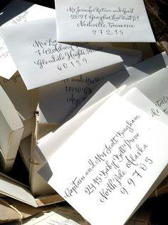 Envelopes    www.hardinkcalligraphy.com
