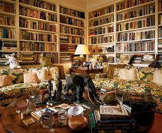 Jimmy Stewart's home library