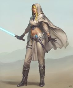 Jedi woman by Kveldulv