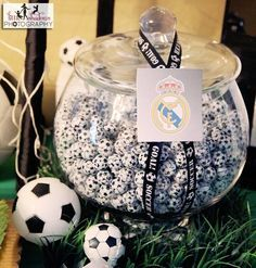 "Photo 3 of 5: Soccer / Birthday ""Soccer themed 1st birthday"" 