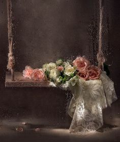 Artwork : roses and swing . artist?
