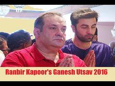 Ranbir Kapoor attends Ganesh Pooja at RK Studio | Ganesh Utsav 2016.