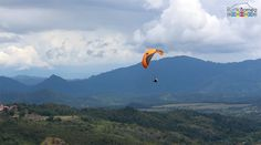A #paragliding adventure in the rural areas of #Sabah #Borneo not too far from #KotaKinabalu, #Malaysia.