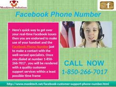 Four valuable realities about the Facebook Phone Number 1-850-266-7017
