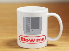 Do You Remember Having to Do This? Are You a Gamer? This is a Great Coffee Mug for Gamers!