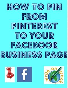 How To Share Pins To Facebook Business Pages