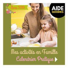 RentréeDiscount - Le Blog : Mes activités en famille - Calendrier pratique à imprimer - Mars 2019 Marie, Ciel, Routine, Skewers, Calendar