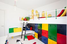 Connected Box Kids Room by Pebbledesign
