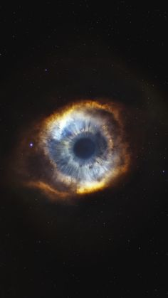 Helix, nebula, starry sky, eye, stars, galaxy, 720x1280 wallpaper