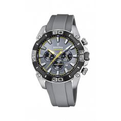 Rolex Watches, Watches For Men, Festina, Yellow Accents, Casio Watch, Stainless Steel Case, Matcha, Omega Watch, Gray Color
