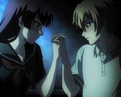 tasogare otome x amnesia- yuuko and teiichi are so cute! :D