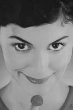 Audrey Tautou Amelie, Audrey Tautou, Real Fairies, Brown Eyed Girls, Female Portrait, Movies Showing, Coco Chanel, Girl Crushes, Make Me Smile