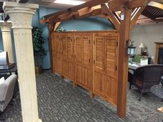 The Outdoor GreatRoom Company Sonoma Arched Pergola Privacy Wall Finish: Redwood, Size: x modern screen wall Diy Pergola, Wood Pergola, Small Pergola, Pergola Swing, Pergola With Roof, Cheap Pergola, Outdoor Pergola, Covered Pergola, Pergola Shade