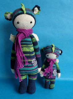 DIRK the dragon made by Evita O. / crochet pattern by lalylala ♡ Crochet Dolls, Knit Crochet, Come Play With Me, Dragon, Making Ideas, Baby Dolls, Doll Clothes, Dinosaur Stuffed Animal, Crochet Patterns