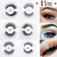 46b2879eb8d Handmade False Eyelashes Multi-layer Cross Natural Long Fake Eye Lashes  Sexy Stage Makeup Tips Thick Extension Tools