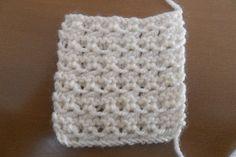 Aprende a tejer en dos agujas: punto fantasia 1