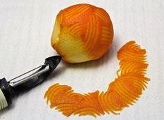 Cocktails : Orange peel garnish tutorial