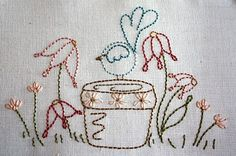 wren stitchery by Cubby House Crafts