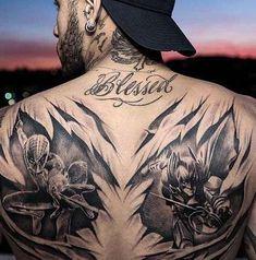 Neymar gets spider-man, batman tattoos - Vanguard Biker Tattoos, Star Tattoos, Rose Tattoos, Body Art Tattoos, Girl Tattoos, Tatoos, Neymar Jr Tattoos, Soccer Tattoos, Football Tattoo