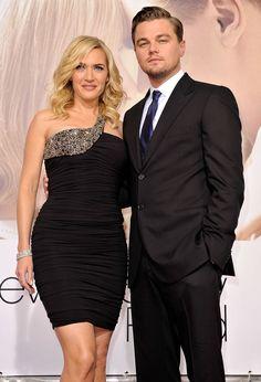 A Comprehensive Timeline of Leonardo DiCaprio and Kate Winslet Being Adorable on Red Carpets  - ELLE.com