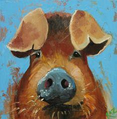 Pig  by Roz @ Drunken Cows