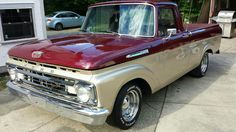 Our 1962 Ford F100 unibody!