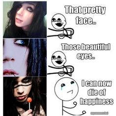 Photo of Andy Biersack Funny Quote for fans of Andy 'Sixx' Biersack BVB.