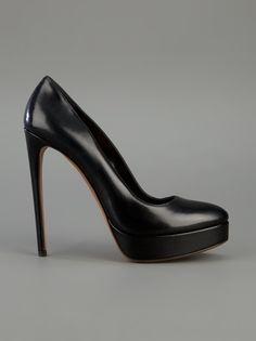 Alaïa Leather Stiletto Platform Shoe - Degli Effetti Women - farfetch.com