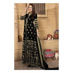 Shop wide range, Anarkali churidar banglori silk prom plus size suits, Black embroidered punjabi clothes now in shop. Andaaz Fashion brings latest designer ethnic wear collection in US Anarkali Churidar, Churidar Suits, Bridal Anarkali Suits, Plus Size Suits, Ethnic Wear Designer, Festival Wear, Party Wear, Indian Fashion, Silk
