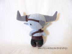 Iron Bull Plushie - Dragon Age: Inquisition