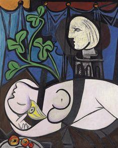 Pablo Picasso -  Desnudo, Hojas verdes y Busto, 1932