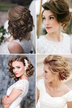 24 Short Wedding Hairstyle Ideas So Good You'd Want To Cut Your Hair ❤ If your…