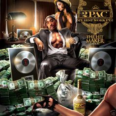 Tupac The Hit Maker Collector's Mixtape Mix CD Compilation