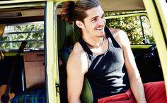 'Survivor' fave Malcolm Freberg to host new online travel series Online Travel, News Online, Reality Tv, Cute Guys, Gorgeous Men, Future Husband, My Boys, Basic Tank Top, Crushes