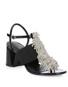 3.1 Phillip Lim Beaded Ankle Strap Sandals