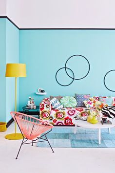 When pattern and colour get together, photography by Janne Peters (via NEST OF PEARLS)