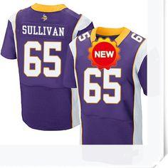 $66.00--John Sullivan Jersey - Elite Nike Stitched Purple Home Minnesota Vikings  Jersey,Free Shipping! Buy it now:http://is.gd/5Al9UZ