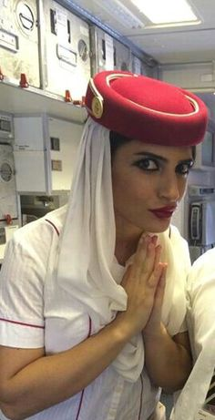 "Emirates Stewardess: "" It would be far better for everyone if you just surrendered now, before any one gets hurt. Yes I will have to tie you up, but I will tell the authorities you came quietly. Emirates Flights, Emirates Airline, Airline Flights, Emirates Cabin Crew, Airline Cabin Crew, Flight Attendant, Dreams, Female, Sexy"