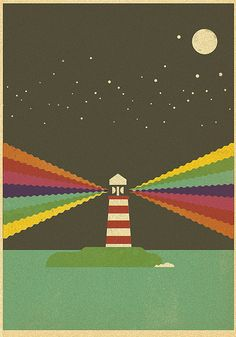 Light House Illustration