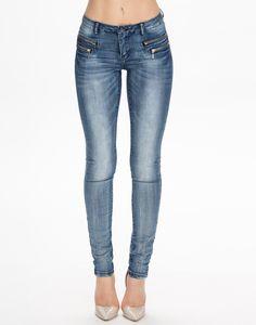 Only - Olivia Denim Blue Jeans, Denim
