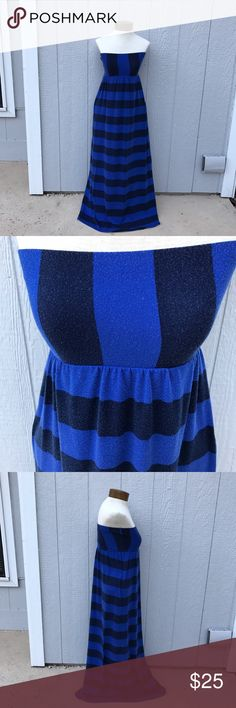 Urban Love Strapless Striped Maxi Dress Heavy wear signs. No stains/tears Piling all over Dress   95% Polyester 5% Spandex  No trading ✖️ 10% off 2 items or more bundles ✔️ Prices are VERY negotiable 💲 Measurements & additional pictures will be provided upon request 📷 Same/next day shipping 📦 Pet friendly home 🐶 Urban Love  Dresses Maxi