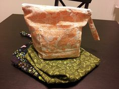 Knitting project bag tutorial by my friend Tiffany Ralph