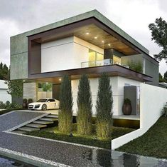10 Sublime Useful Tips: Contemporary Living Room Tv Wall contemporary house architecture.Contemporary Architecture Home contemporary bathroom brown. Residential Architecture, Amazing Architecture, Contemporary Architecture, Architecture Design, Contemporary Garden, Contemporary Style, Contemporary Stairs, Minimal Architecture, Creative Architecture
