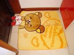 Lovely easily bear cute casual happy childhood children climb blanket carpet carpet upholstery coffee table mats - Taobao